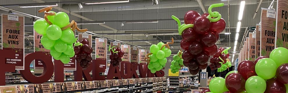 decoration ballon foire aux vins magasin pau tarbes Toulouse auch dax bayonne