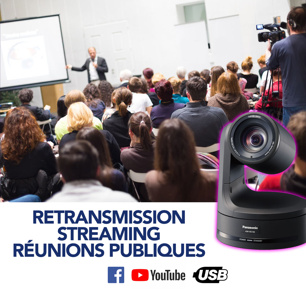 Captation Streaming Réunion Publique Instances Publiques Tarbes Pau Auch Bayonne Dax Hautes Pyrénées Atlantiques 65 64 32 40 33 31