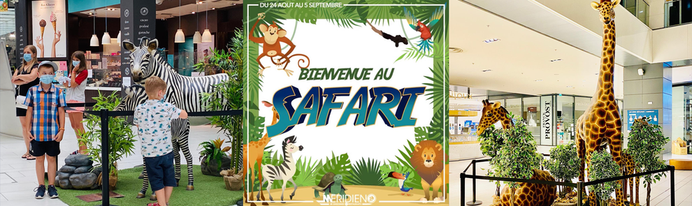 exposition safari jungle centre commercial