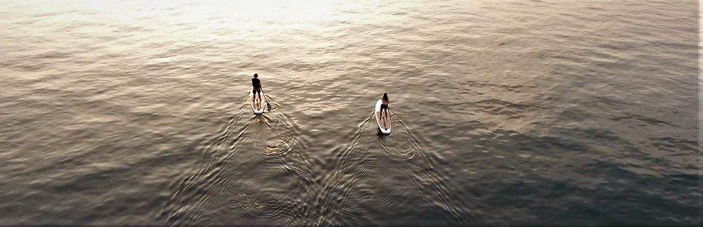 Stand Up Paddle Verleih am Gardasee Brenzone