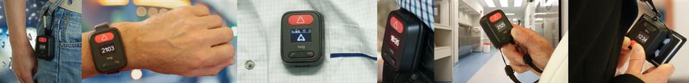Boitier PTI GSM dont bracelet PTI TWIG EMBODY