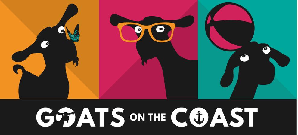 Fibal logo design for Goats on the Coast, Design By Pie, Graphic Designer, North Devon
