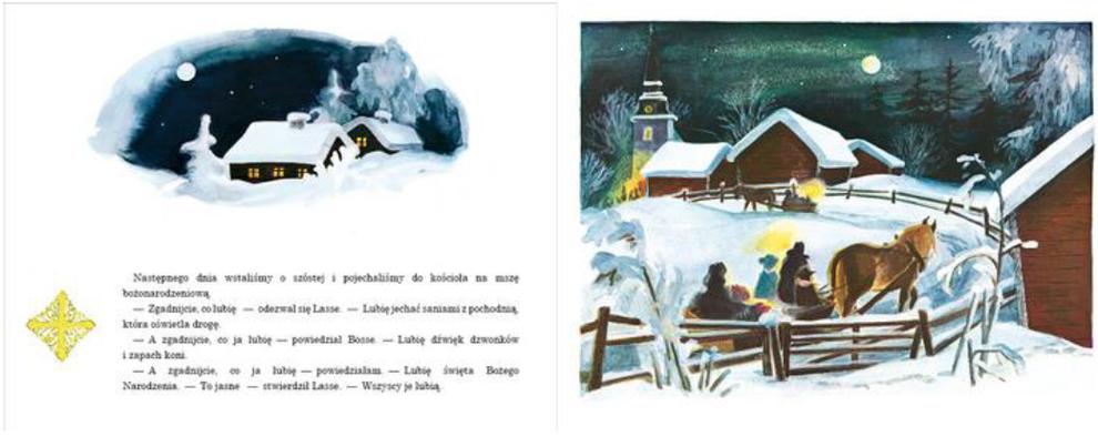 Astrid Lindgren: Boże Narodzenie w Bullerbyn (wśród podarunków w paczce dla Kinder- und Jugendbibliothek).