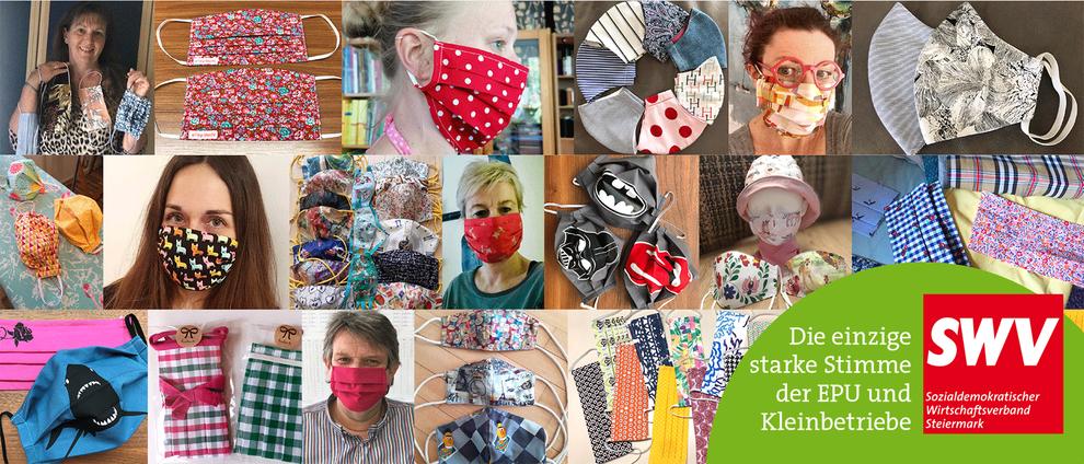 Liste regionaler Masken-Anbieter: Unterstützen Sie unsere steirischen Bekleidungsbetriebe !