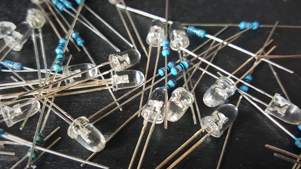 LED's mit Vorwiderstand richtig betreiben