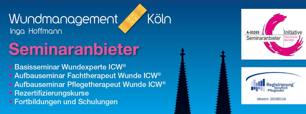 Seminaranbieter ICW Initiative chronische Wunden Köln, Inga Hoffmann-Tischner