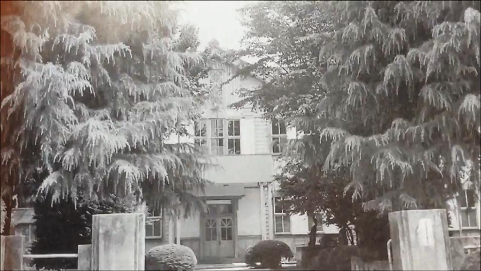 旧本庄高等女学校正門