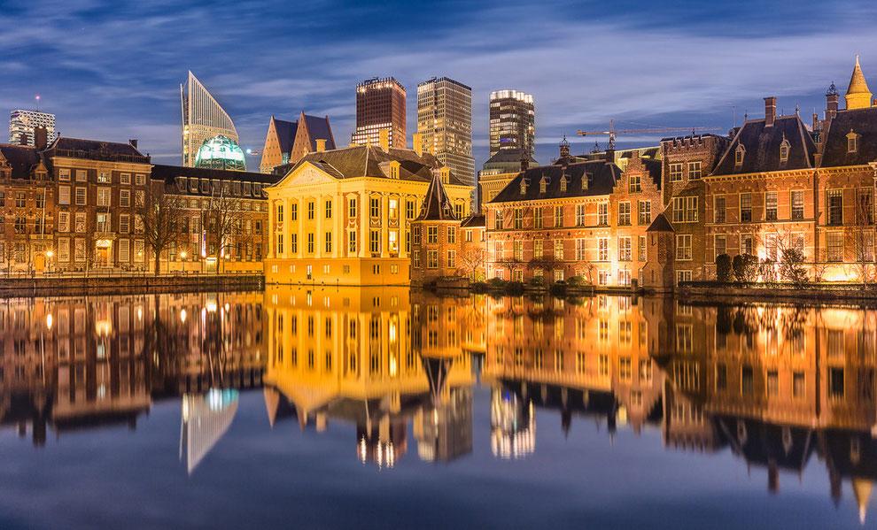 Hofvijver en Binnenhof Den Haag © Jurjen Veerman