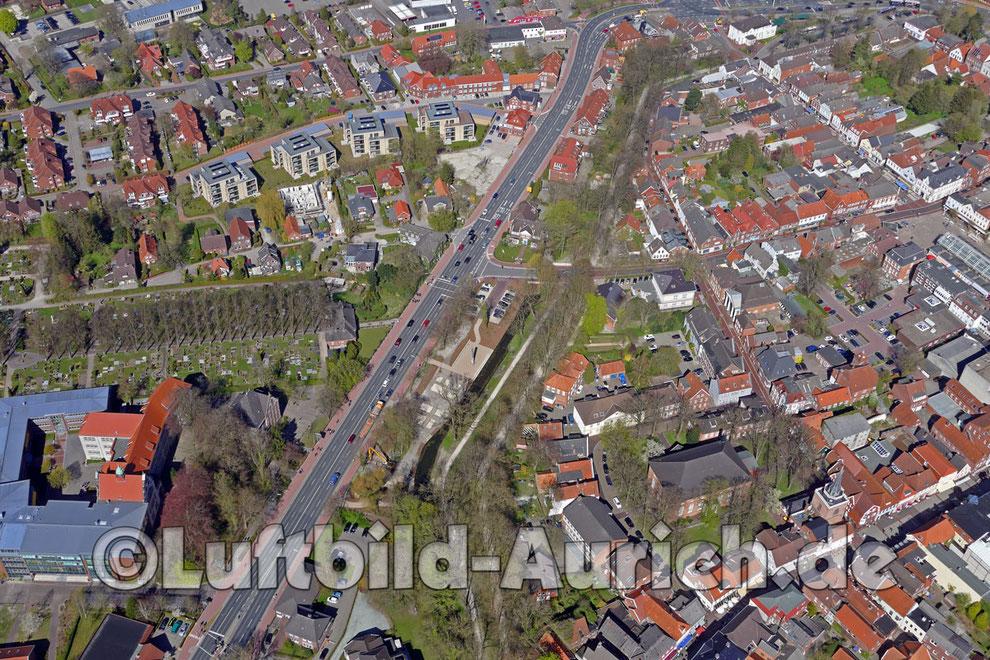 Aurich - Hoher Wall nach der Umgestaltung