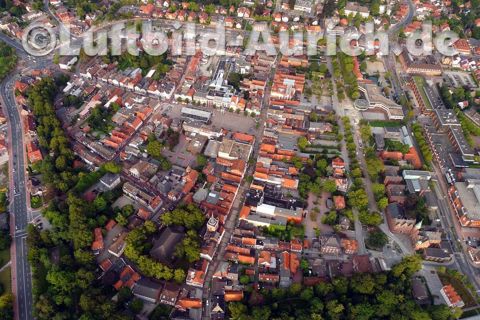 Der Auricher Marktplatz