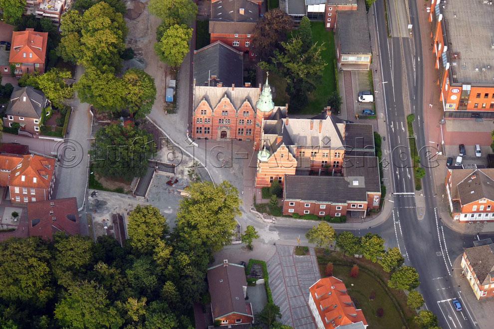Die Ostfriesische Landschaft mit Bürgermeister-Müller-Platz