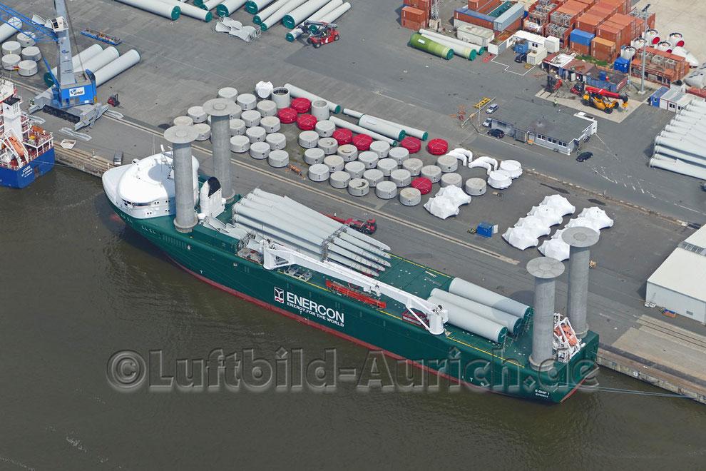 "Enercon's ""E-Ship 1"""