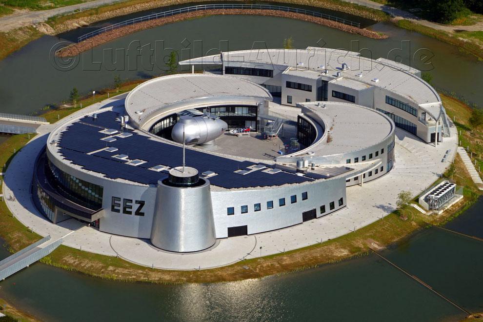 Das EEZ in Sandhorst - bis auf kleinere Außenarbeiten ist es jetzt fertig gestellt.