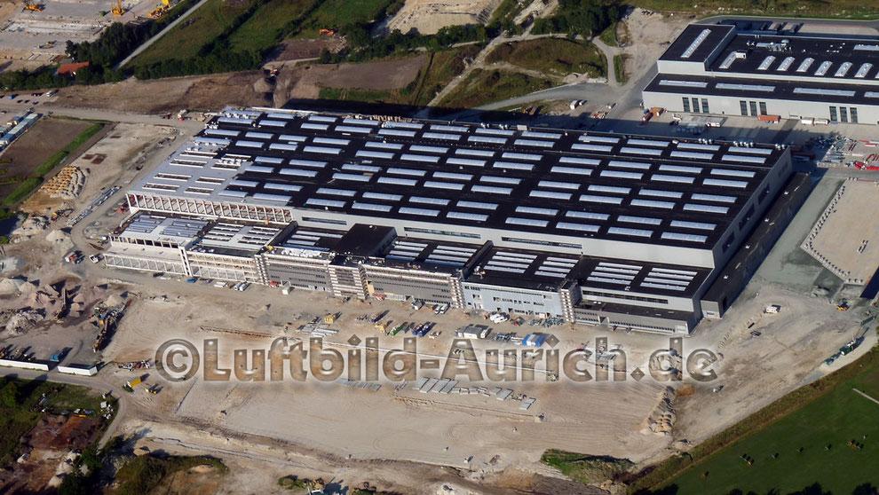 Baufortschritt - September 2012