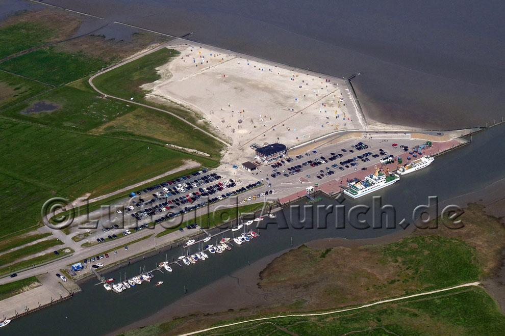 Neßmersiel Hafen