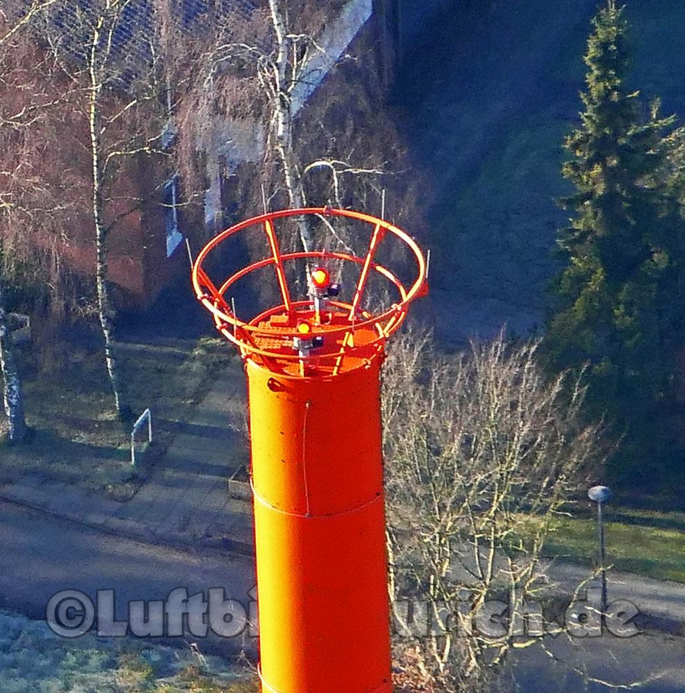 Der Auricher Fernsehturm - hier mal von oben!