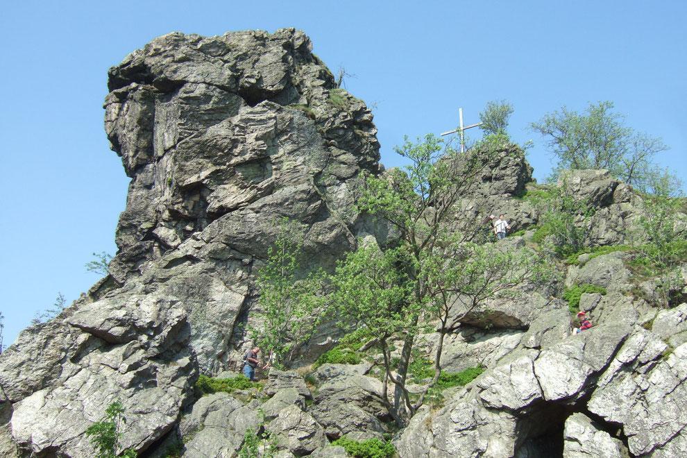 Naturdenkmal Bruchhauser Steine - 100 min. Fußweg