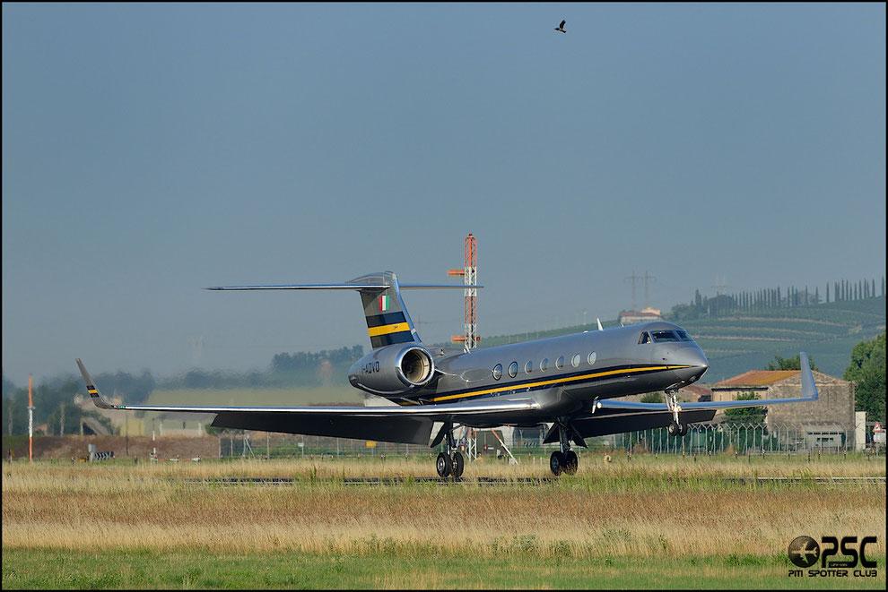 I-ADVD - Gulfstream Aerospace G-V-SP Gulfstream G550 - Sirio spa