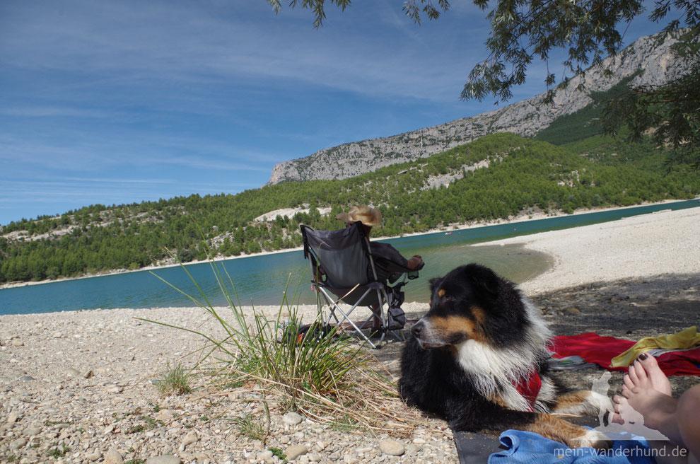 Baden am Lac de Sainte-Croix: traumhaft in der Nachsaison!