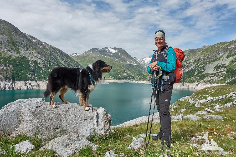 Wanderung mit Hund auf die Arlhöhe in Kärnten.