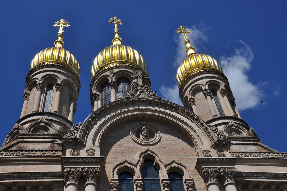 Wiesbaden Russische Kirche  Foto P.Marozau, europe-reporter.eu