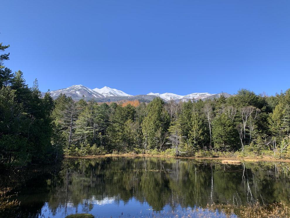 長野県 乗鞍高原にある温泉付きゲストハウス 星空のあかり             ★牛留池。