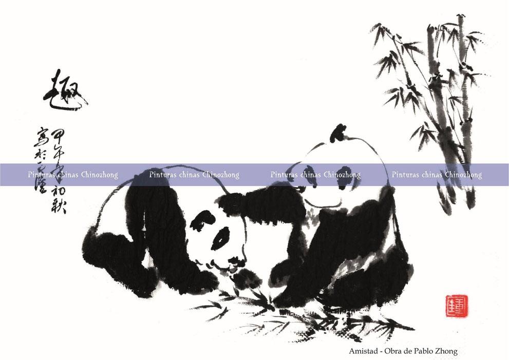 Amistad - Obra de Pablo Zhong