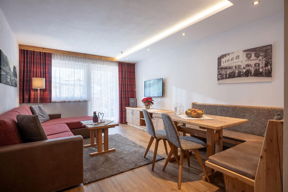 Ferienwohnung im modernen alpinen Landhausstil im Postgasthof Fischerwirt am Walchsee