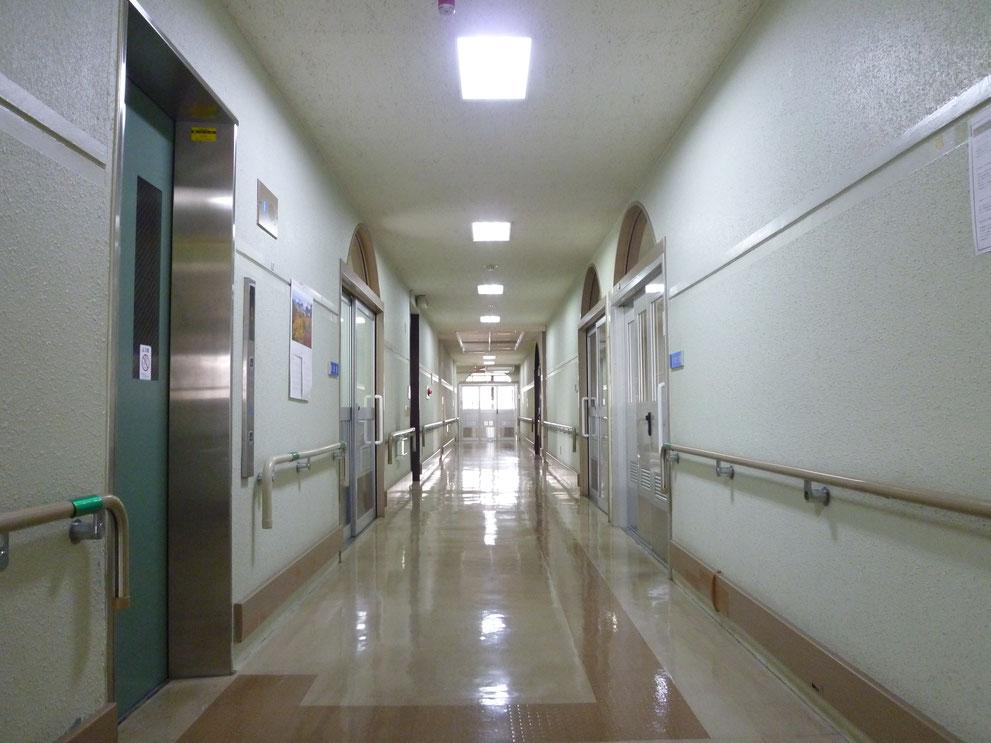 2階 廊下の様子