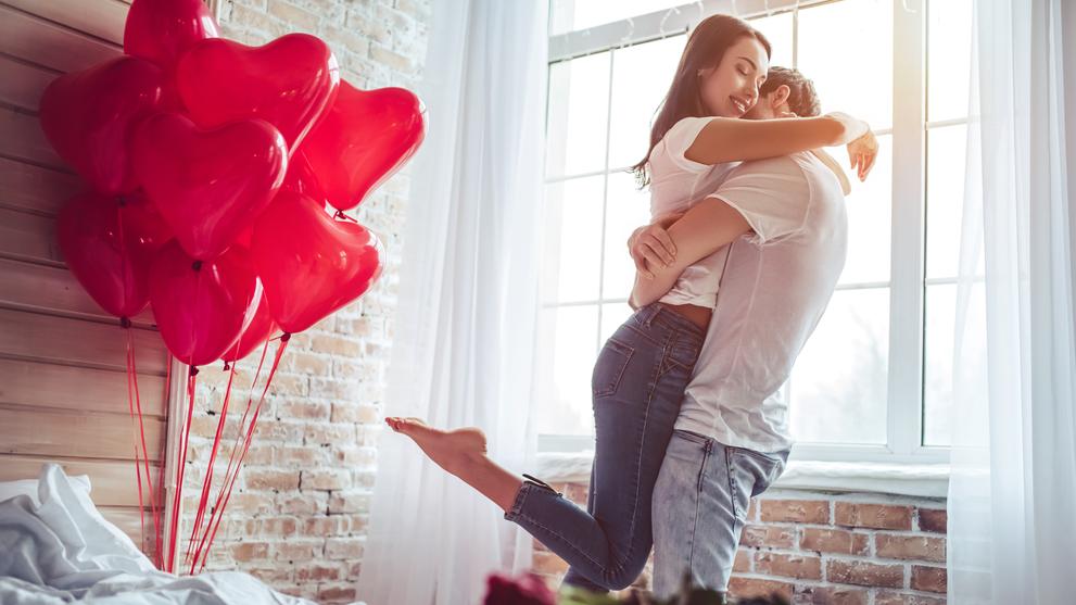 Geschenk zum Valentinstag Valentinstag-Geschenk
