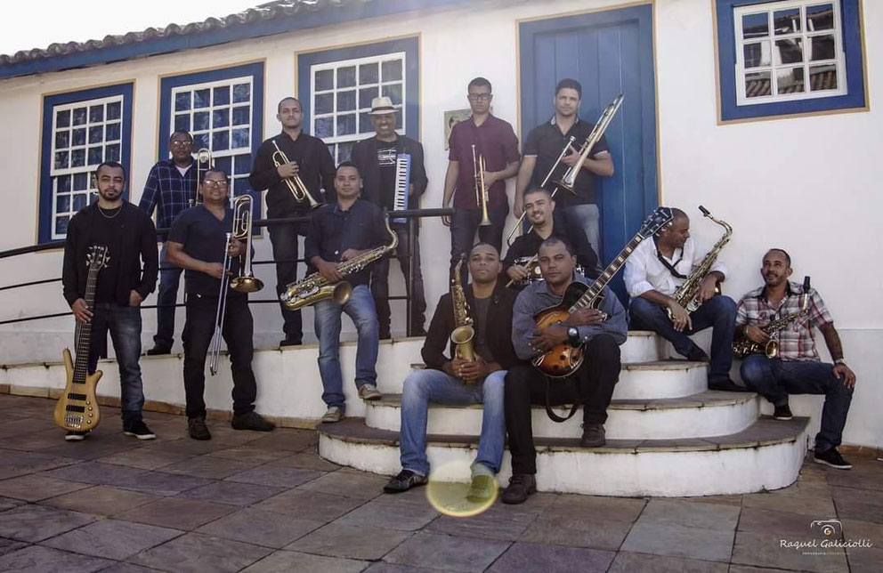 JK Jazz Band na Casa de Juscelino Kubitschek em Diamantina