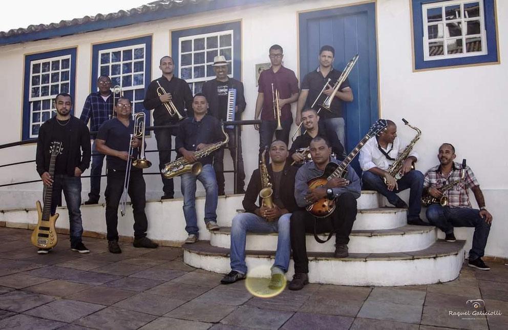 JK Jazz Band at the House of Juscelino Kubitschek in Diamantina