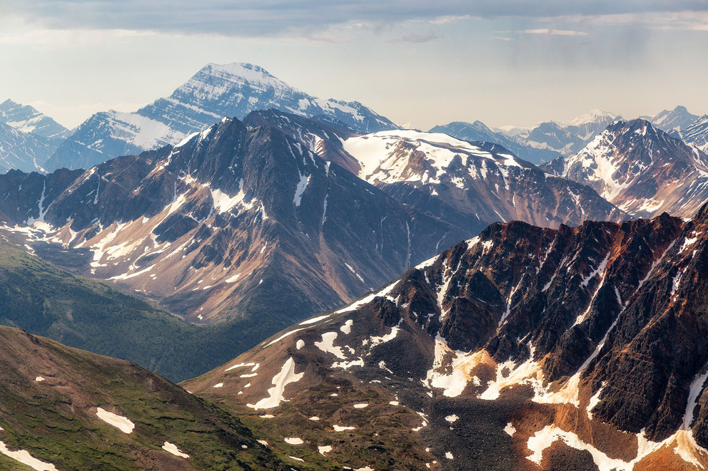The view from Indian Ridge. Best photography locations in Jasper National Park