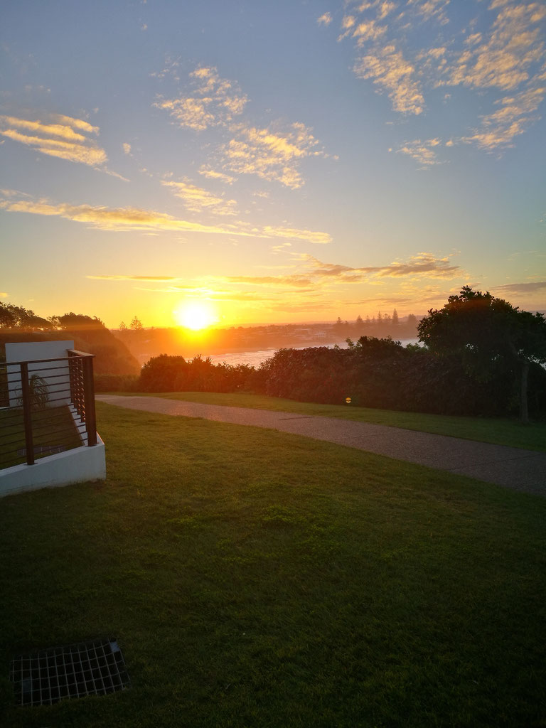 Auf den Weg machen an die Sunshine Coast