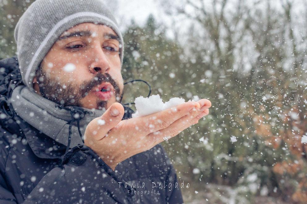 fotografia social, fotografia personas, book en exteriores, nieve