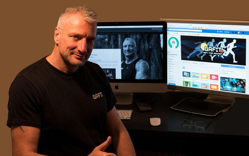 Ernährungsberatung online, Fitnessberatung online, Wettkampfcoach online, Personaltrainer Online, Onlineberatung in allen Belangen des GaFit Prinzips der Ganzheitlichen Fitness