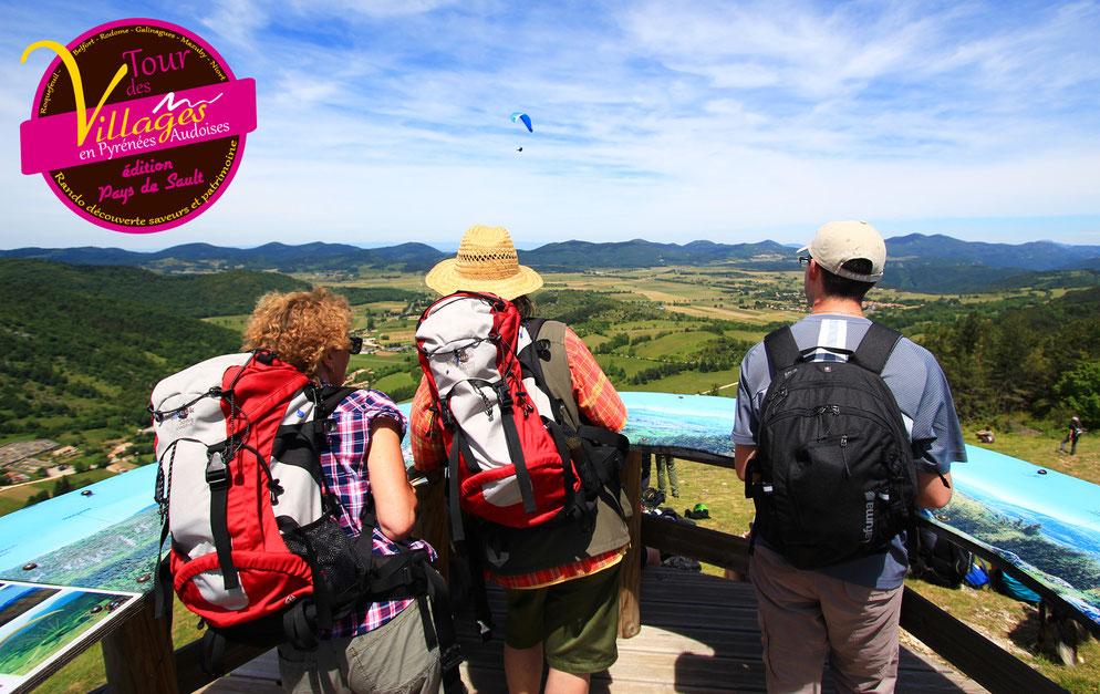 Rando Tour des Villages en Pyrénées Audoises 2018