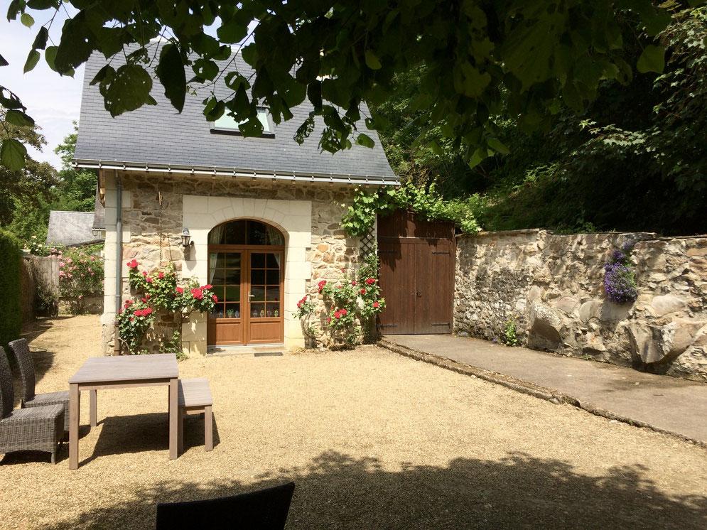 Gîte, location de vacances à Gennes, Domaine de Joreau, près de Saumur, Val de Loire