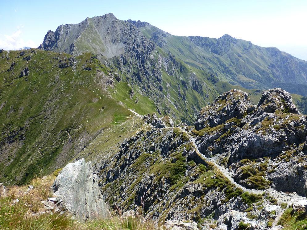 Aufstieg zum Rocciamelone