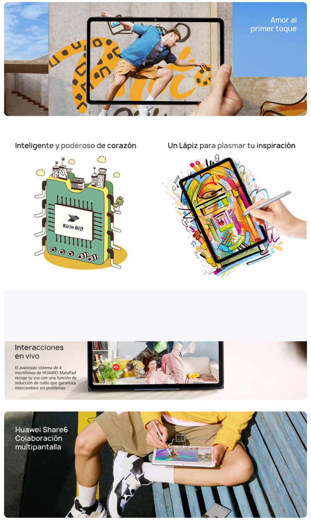 Tablet Huawei MatePad de 64GB en Tenerife