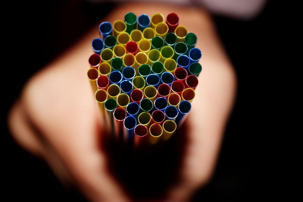 Strohhalm-Alternativen ohne Plastik