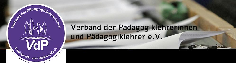 Satzung des Verbands der Pädagogiklehrerinnen und Pädagogiklehrer ...