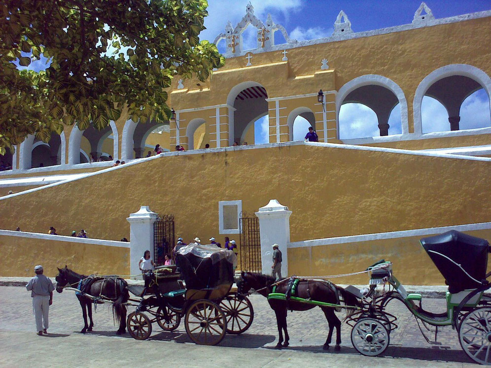 Izamal - historic city center