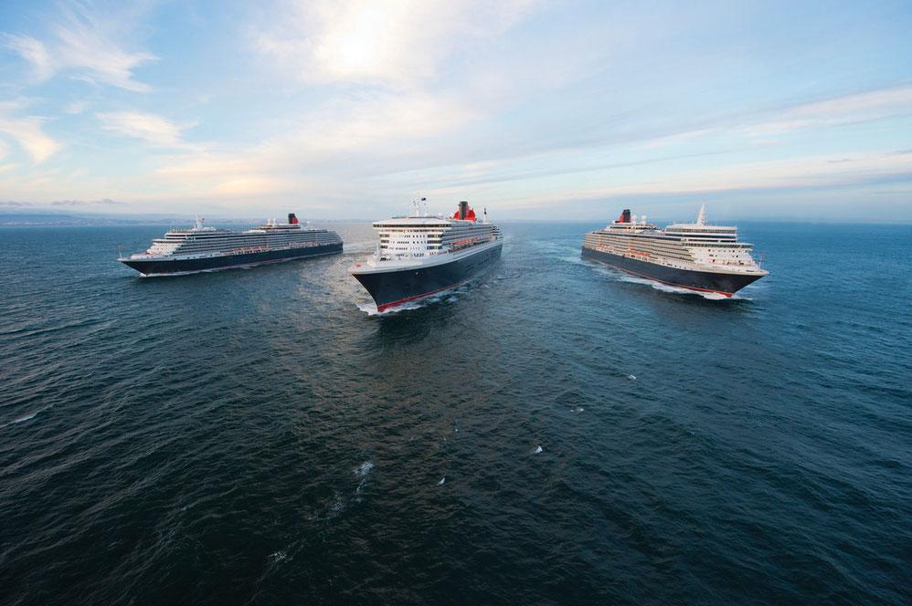 Cunard Line Flotte