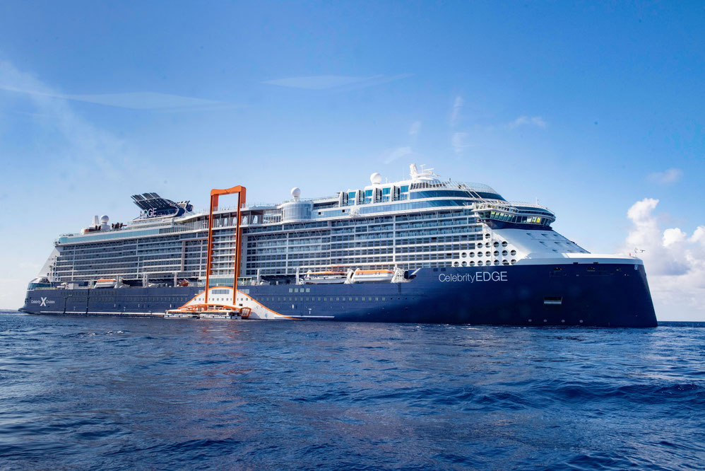 Celebrity Edge Mittelmeer