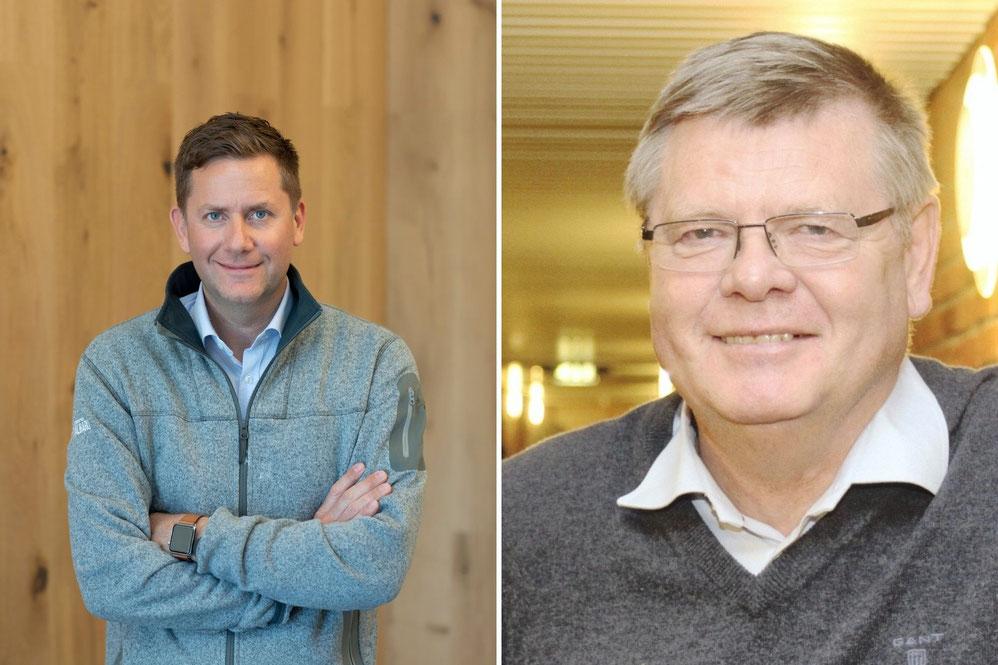 v. l. n. r: Daniel Skjeldam, CEO Hurtigruten; Ørjan Olsvik, Professor in Medical Microbiology |© Hurtigruten