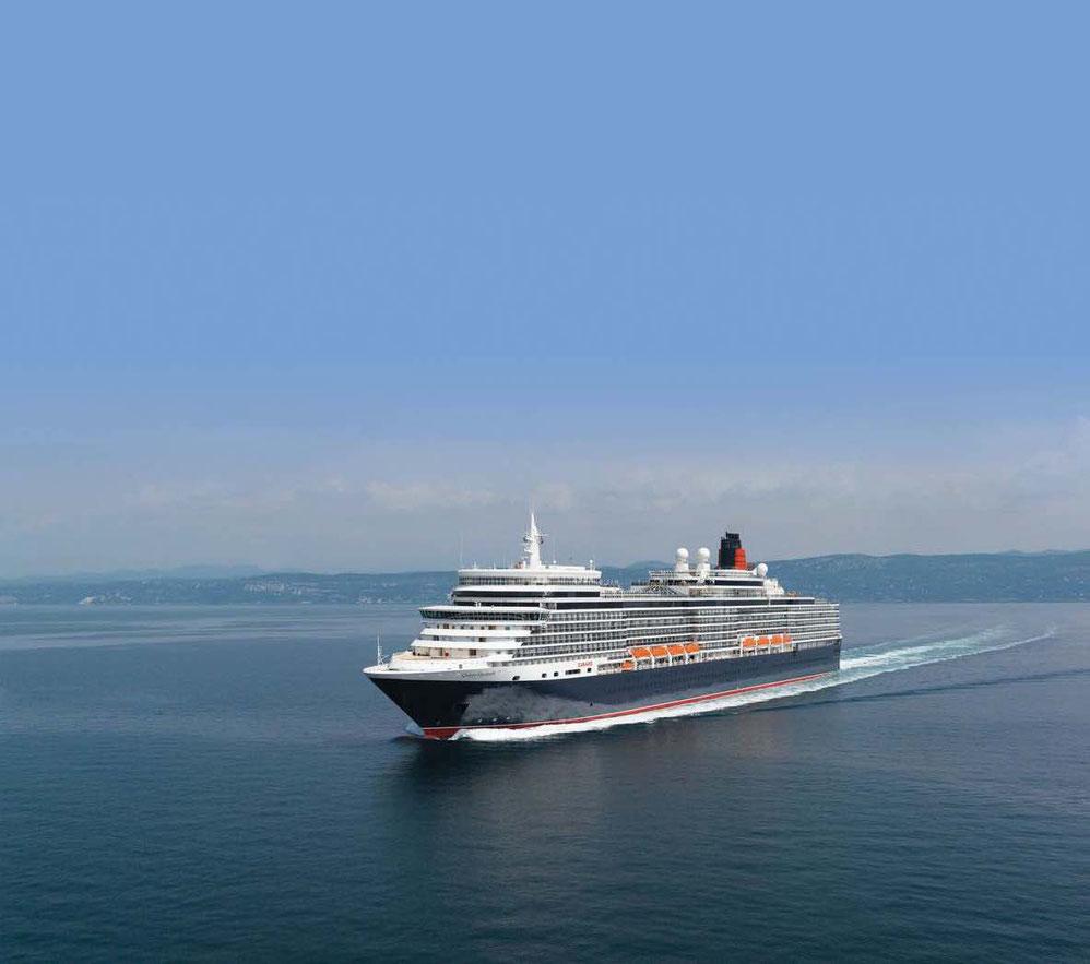 Queen Victoria auf See