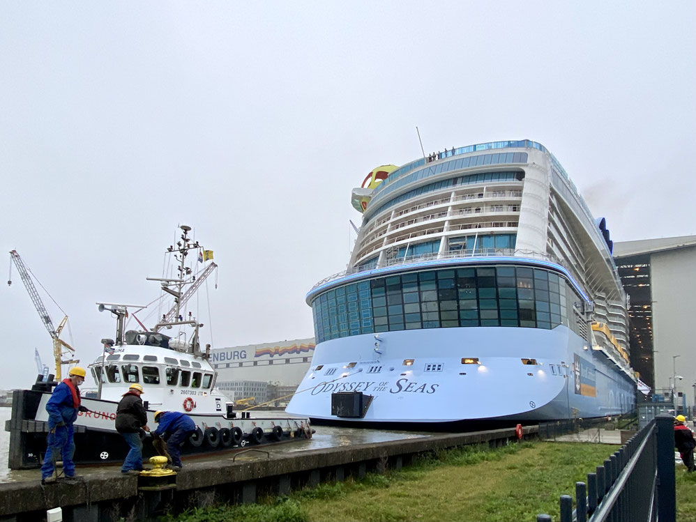 Odyssey of the Seas Float Out