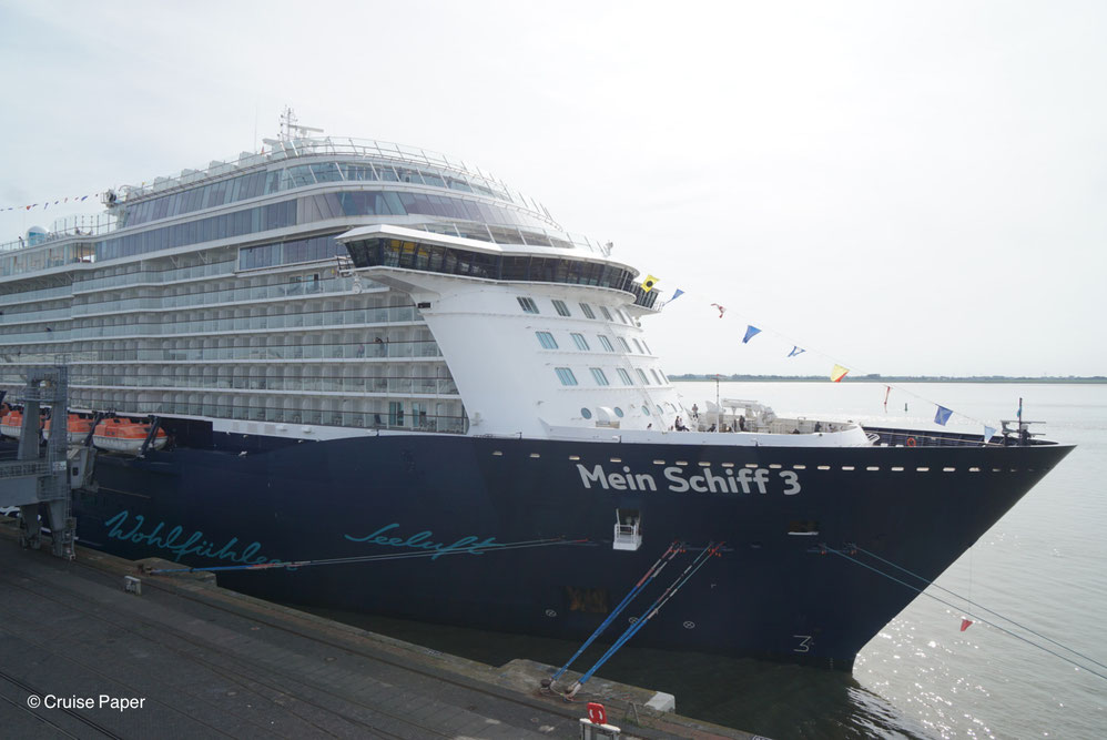 Mein Schiff 3 in Bremerhaven
