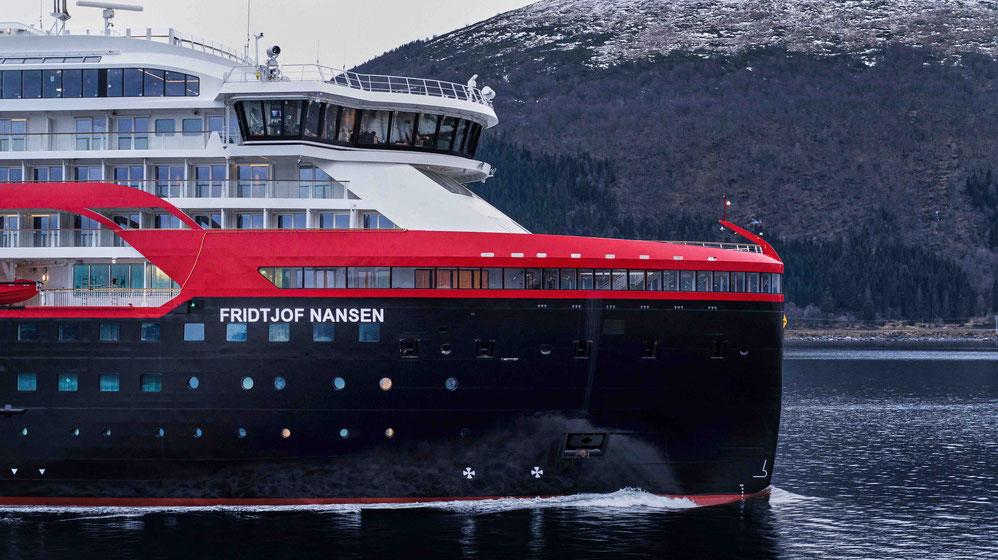 MS Fridtjof Nansen Hurtigruten